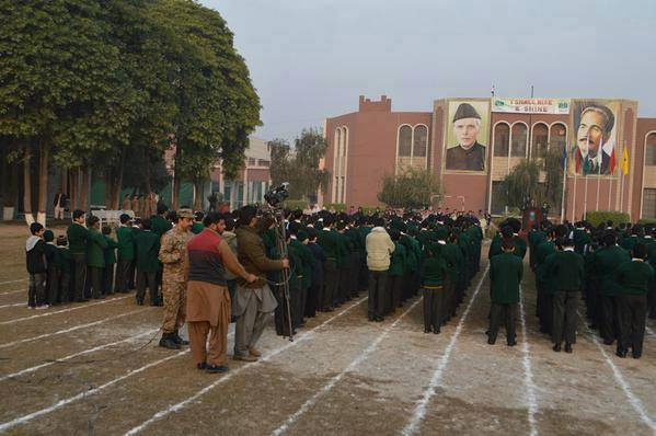 Students Resume Academic Session At ‪‎Army Public School‬
