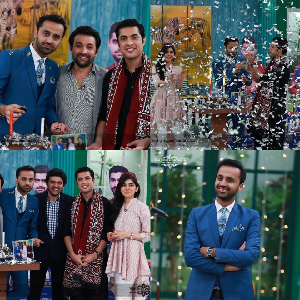 Waseem Badami Celebrating His Birthday