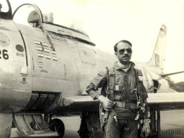 1st death anniversary of M.M Alam is being observed today