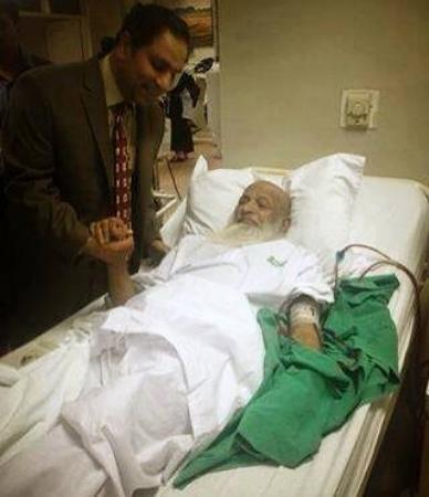 Abdul Sattar Edhi in ICU
