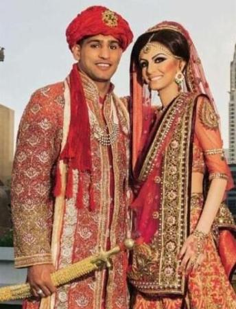 Amir Khan Faryal Makhdoom Wedding Marriage Picture