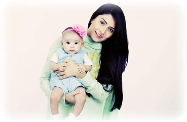 Ayeza Khan with her cute daughter Hoorain