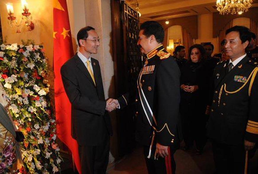 COAS General Raheel Sharif At 88th Anniversary Of PLA China