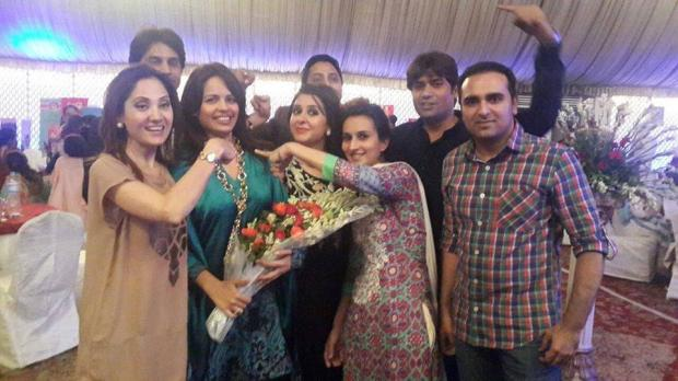 Geo News Famous Anchor Najia Ashar Farewell Party