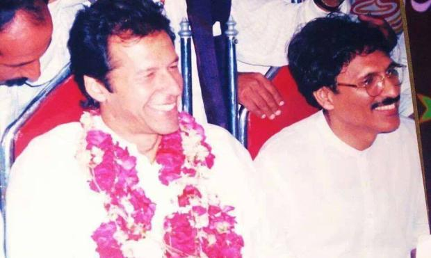 Guess this Person with Imran khan