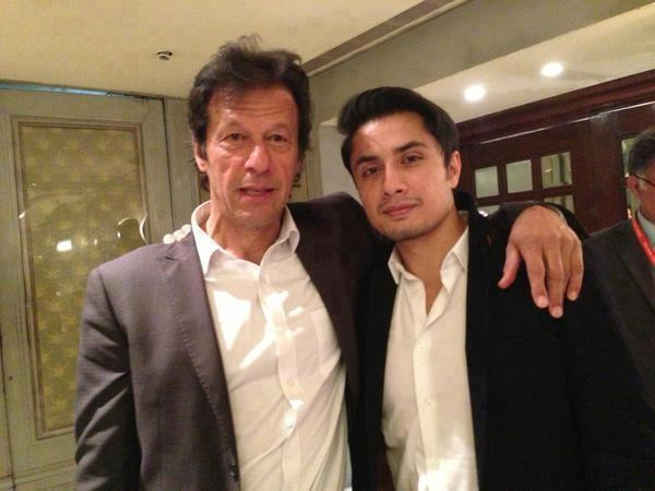 Imran Khan and Ali Zafar Spot Together