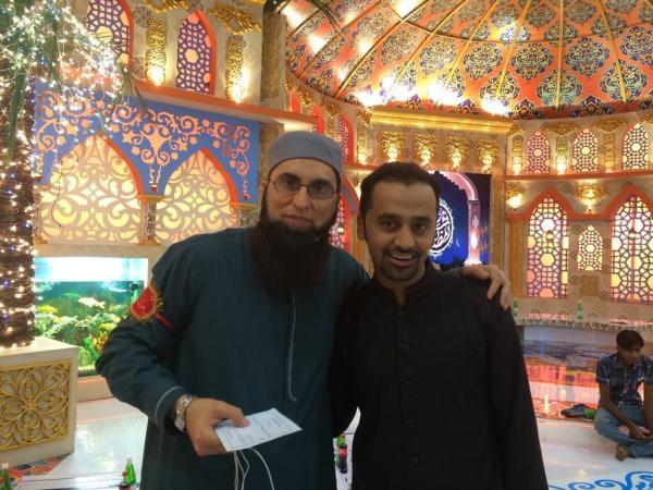 Junaid Jamshed With Waseem Badami