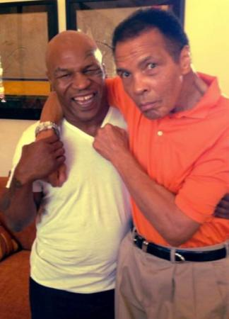 Legends - Muhammad Ali and Mike Tyson