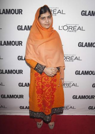 Malala Yousafzai at Glamour Magazine Women of the Year event