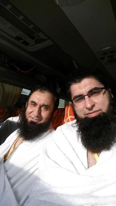 Maulana Tariq Jameel And Junaid Jamshed Heading To Arafat