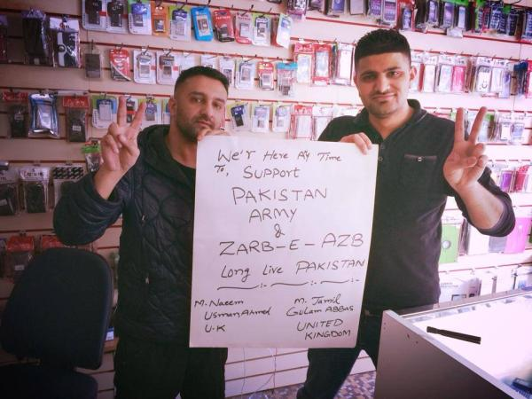 Pakistani From the World Supporting Operation Zarb e Azab