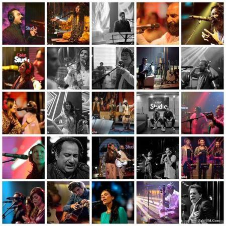 Participants Of Coke Studio Pakistan 7