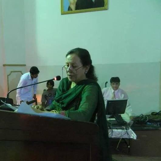 Principal of Army public school Tahira Qazi Shaheed