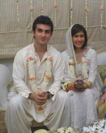 Shahroz Sabzwari and Vj Saira Yousuf got Married