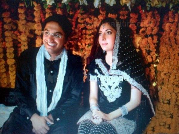 Sharmila Farooqi Engagement with Hasham Riaz Sheikh