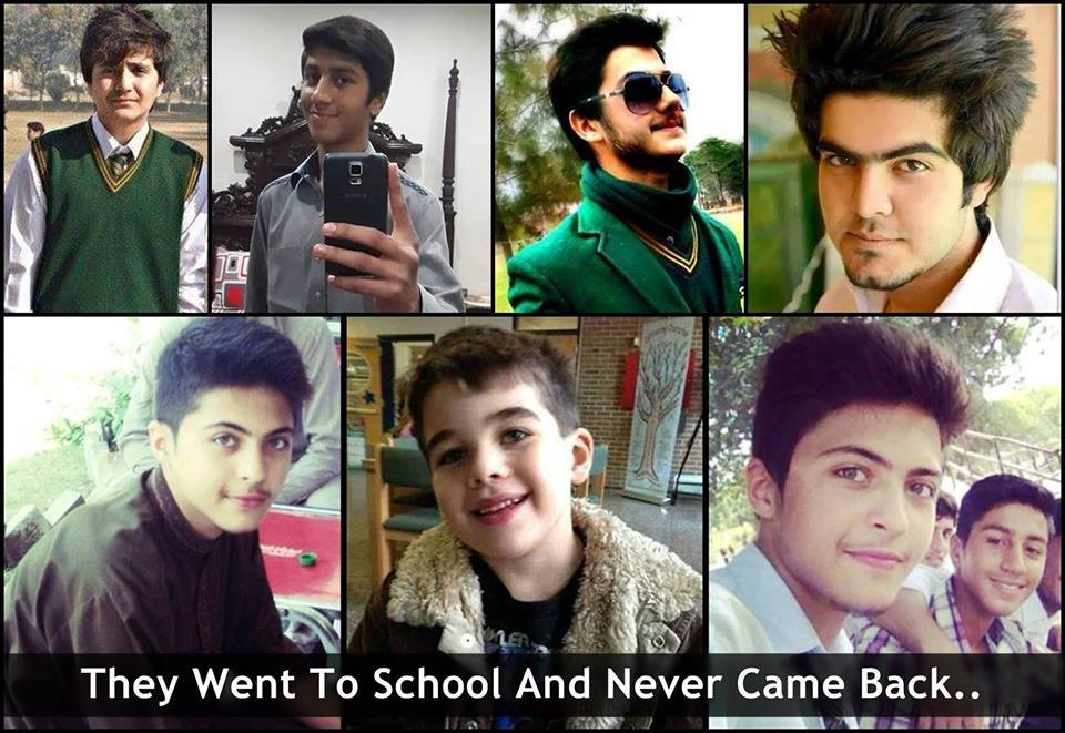 Students Killed In Peshawar Attack