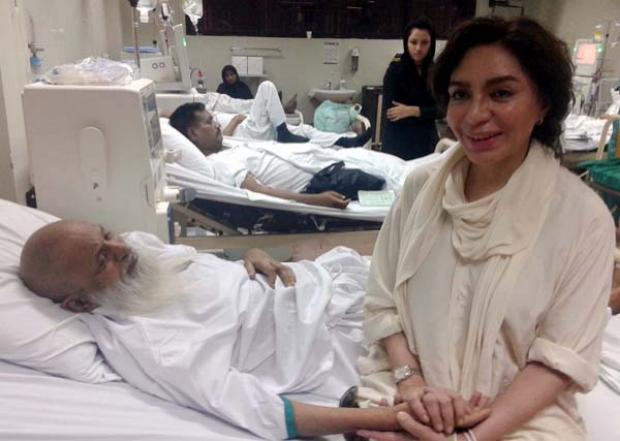Tehmina Durrani visits Edhi
