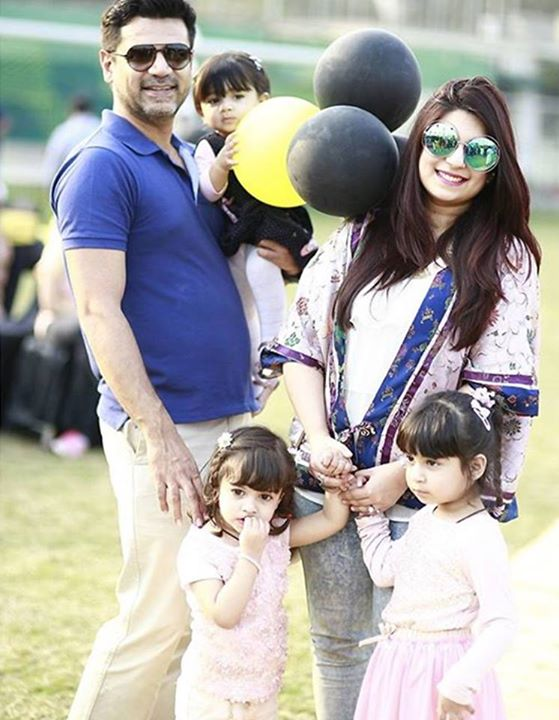 Vasay Chaudhry with his beautiful family