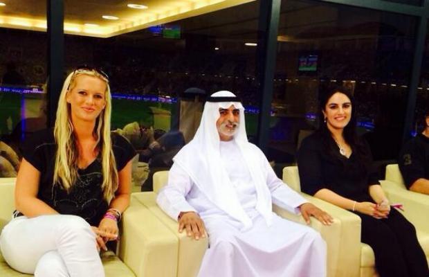 Wasim Akram's Wife Shaniera And Bakhtawar Bhutto In UAE