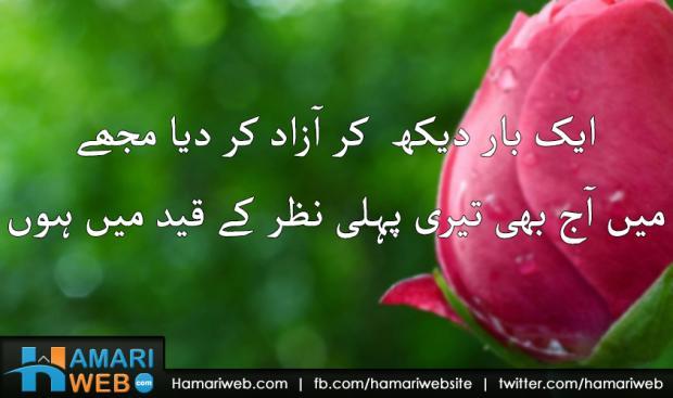 Ek Baar Dekh Kar Azad Kar Diya Mujhe