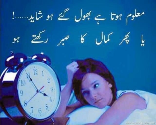 Maloom Hota Hai Bhool Gaey Ho Shayad