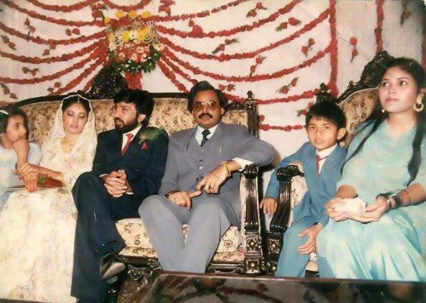 Altaf Hussain at Farooz Sattar Wedding
