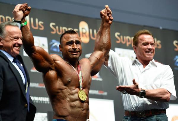 Atif Anwar Won 100 KG Arnold Classic Australia 2015 Title