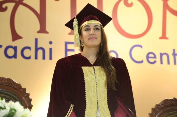Bakhtawar Bhutto Zardari at Convocation Ceremony