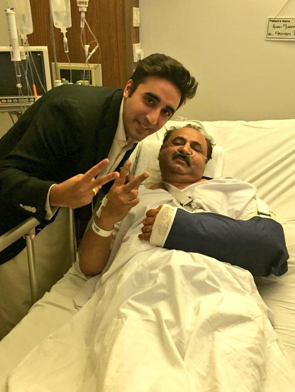 Bilawal Bhutto Zardari Responds Terrorists With V Sign