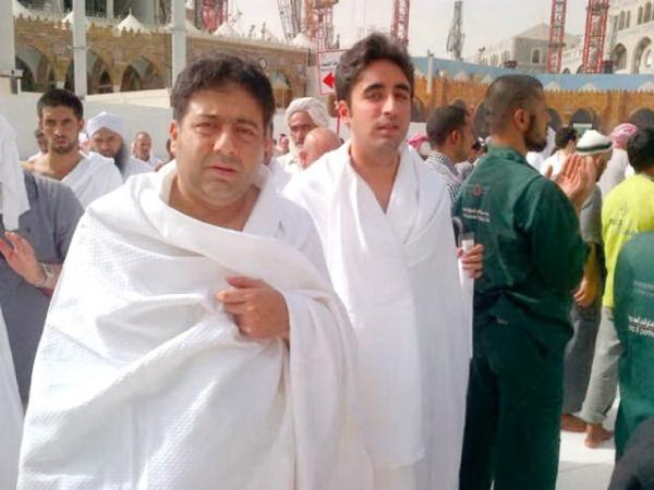 Bilawal Bhutto Zardari and Owais Muzaffar perform Umrah