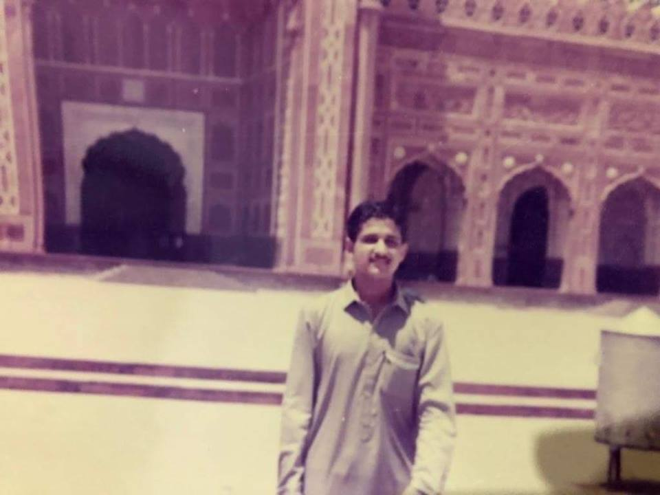 CM Punjab Usman Buzdar Oldest Photo