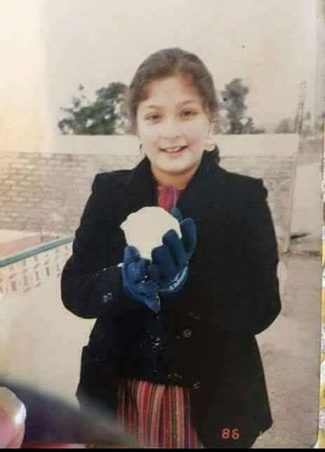 Childhood Photo Of Maryam Nawaz - Political Images & Photos