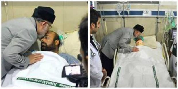 Dr Tahir-ul-Qadri Visited Jinnah Hospital