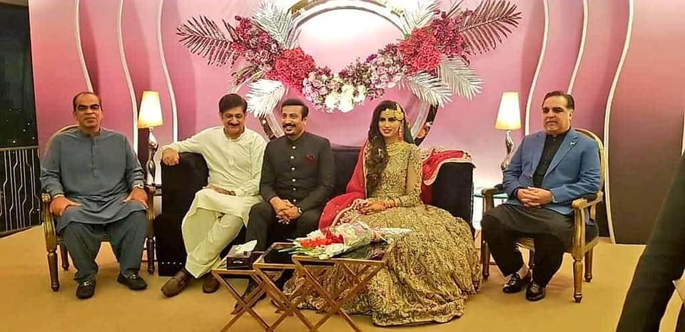 Faisal Subzwari Got Married To Famous Anchor Person Madhia Naqvi