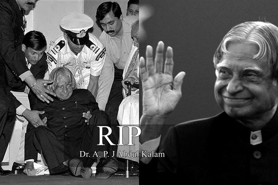 Former President Of India Dr APJ Abdul Kalam Died