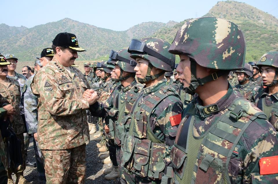 Gen Raheel Sharif Visited Bahadur Ranges Attock