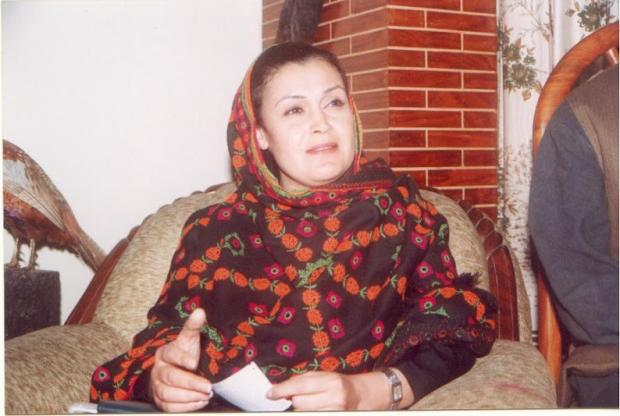 Ghinwa Bhutto - Sister in Law of the late Benazir Bhutto