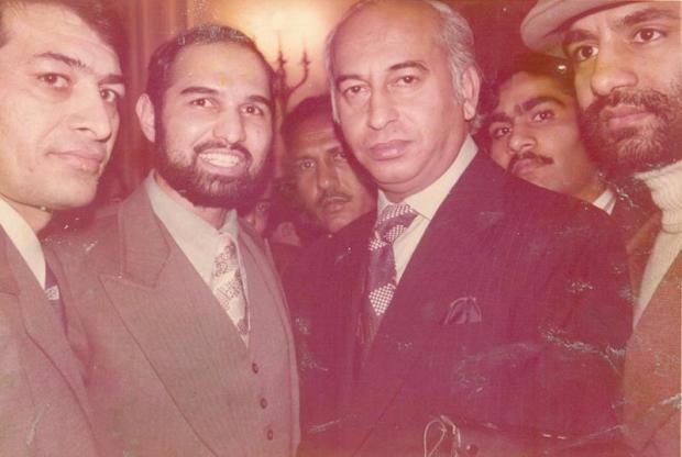 Historic Pic of Zulfiqar Ali Bhutto