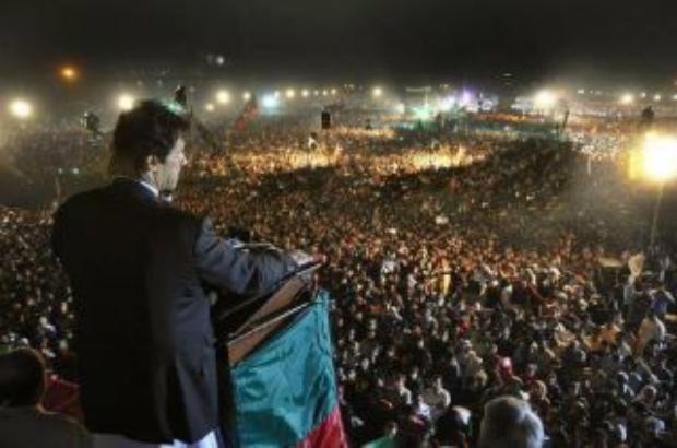 Imran Khan 23 March Jalsa at Minar-e-Pakistan Lahore.