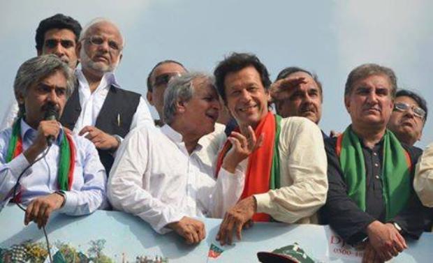 Imran Khan In Azadi March