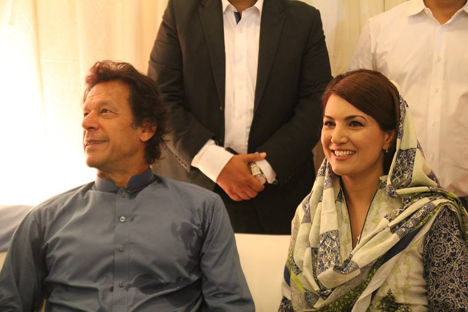 Imran Khan With Reham Khan At Fundraiser Event For Namal College