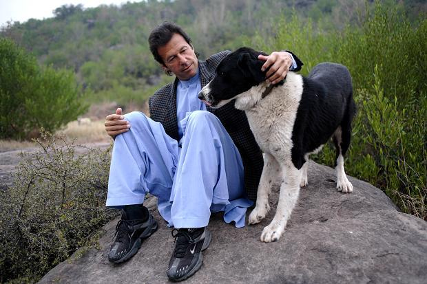 Imran Khan's Dog Sheru Has Died