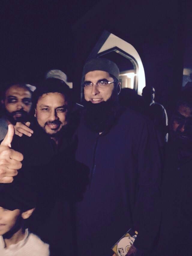 Junaid Jamshed With Najam Sheraz