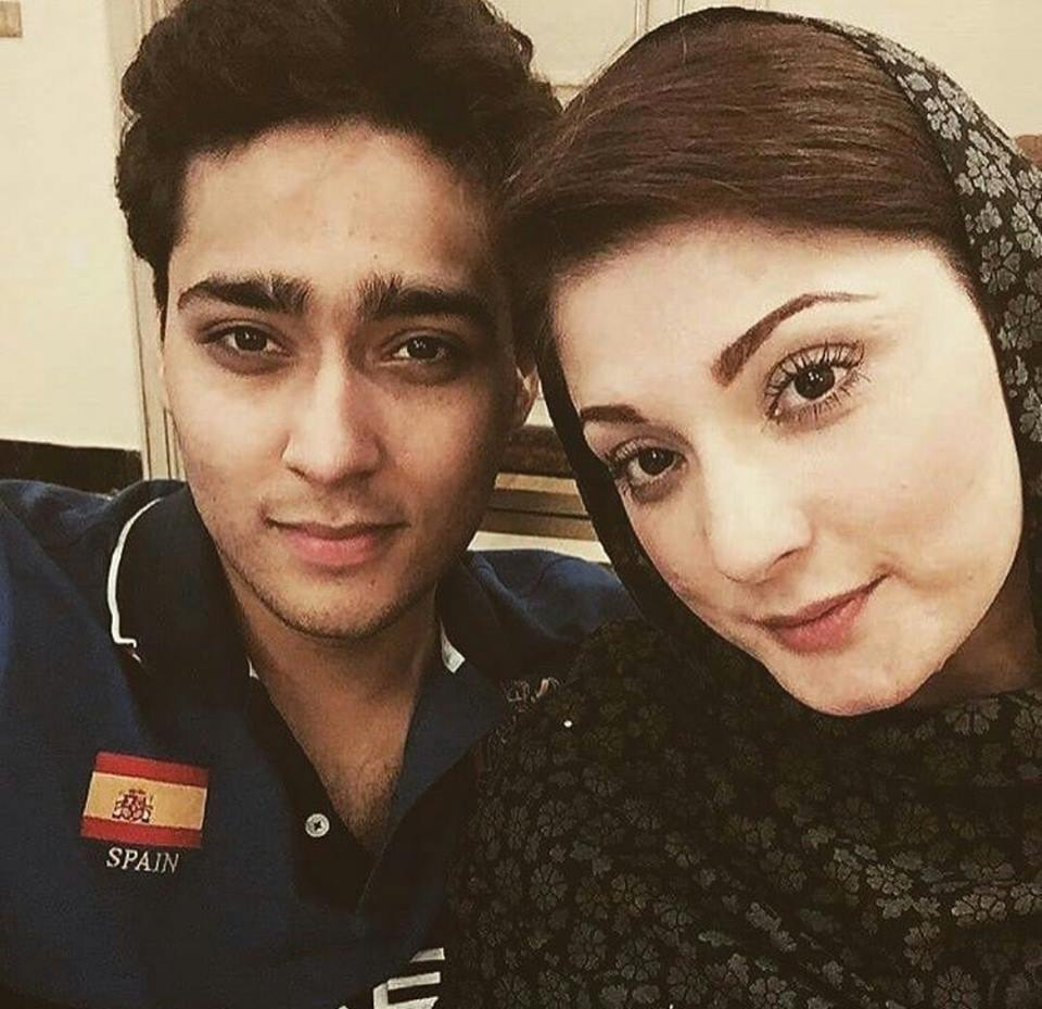 Mariam Nawaz Sharif With Son
