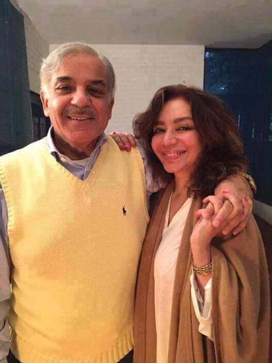 Mr. and Mrs Shahbaz Sharif