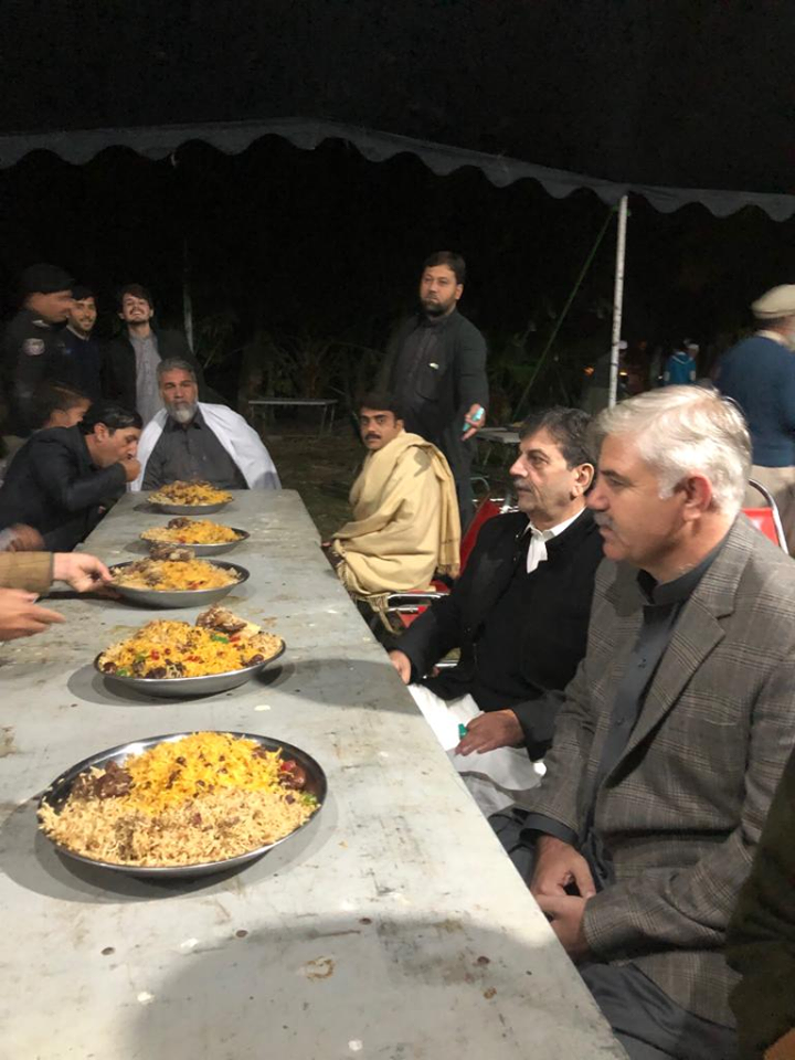 One Dish Party In The Honor Of CM KPK
