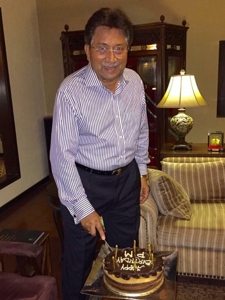 Pervez Musharraf Birthday Celebration Photo