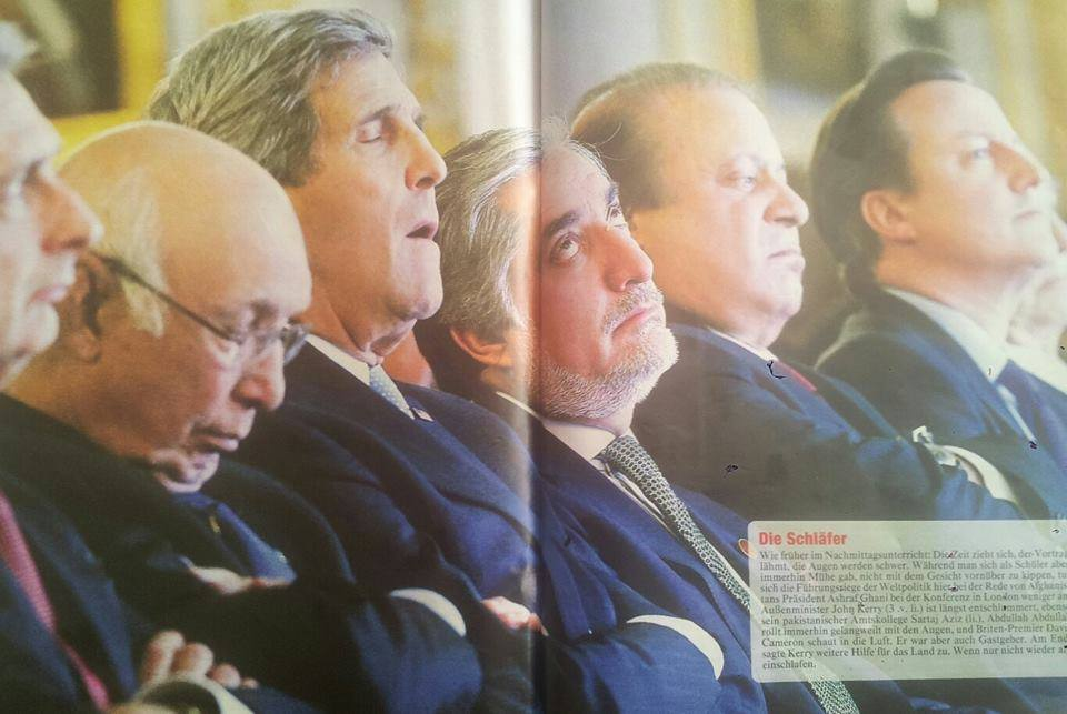 Politicians Spotted Sleeping