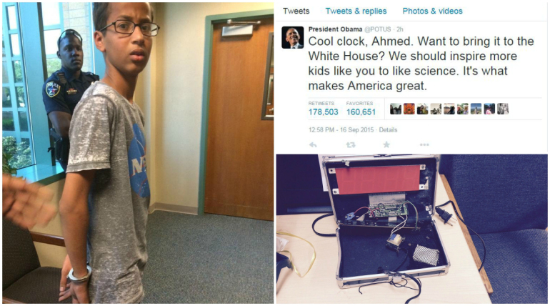 President Obama Invites Ahmed in White House
