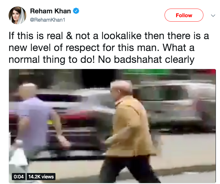 Reham Khan Tweets About Shehbaz Sharif